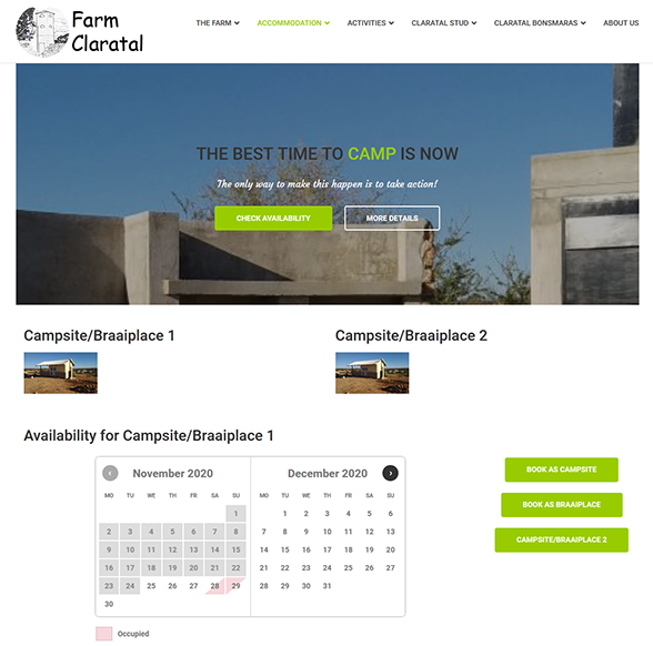 Website Claratal