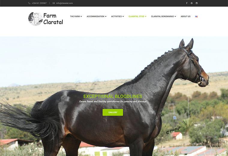 Claratal Website